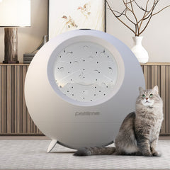 Automatic intelligent pet drying box, large and small dog dryer, cat dog hair dryer blowing water blowing machine