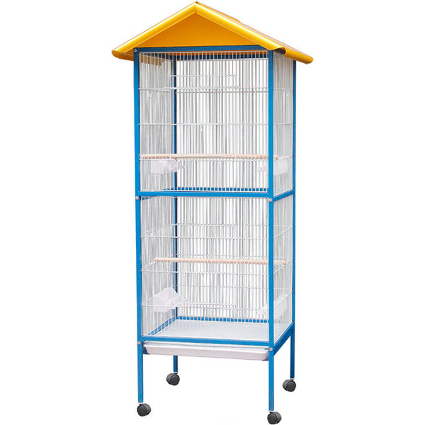 Bird Cages Large Iron Parrot Breeding Cage Starling Bird Finches Hanging Tent Swing Bird Bed Budgie Bird Cage Hoose Pigeon House