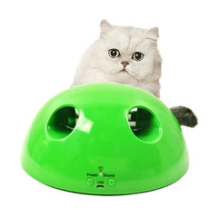 Hot Sale Battery Cat Toy Pop Toy Pet Toy Ball Play Cat Scratcher Interactive Funny Cat Toy Rechargeable Capture Training Toy