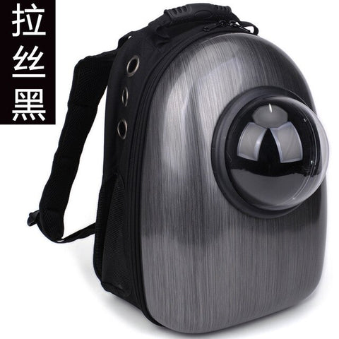 Bag transparent pet bag factory cat cat go out cross-border shoulder bag portable pet space breathable dog backpack