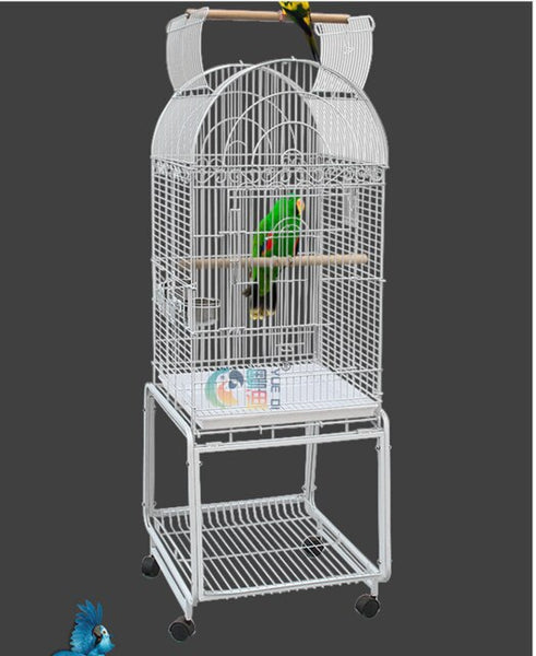 portable Pet display cage Wire bird cage decoration parrot chastity cage bird house bird bed bird cage pet supplies