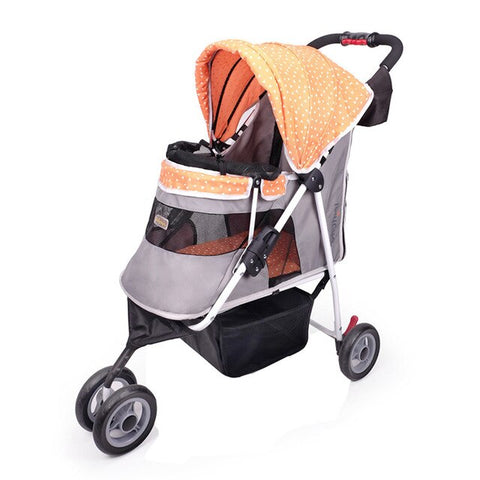 Carrying Cat/Dog folding pet stroller for dog  within 20KG cat Teddy three wheel folded dog carrier Pet Cat Stroller