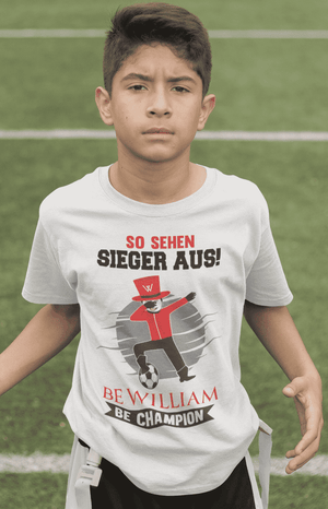 """Champion"" Kinder T-Shirt aus 100 % Bio-Baumwolle - Be William"
