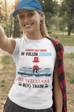 """Zug"" Damen T-Shirt aus 100 % Bio-Baumwolle - Be William"
