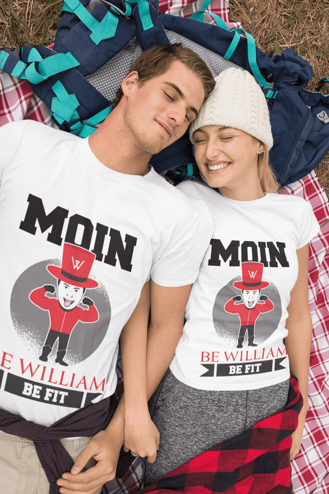 """Moin"" Unisex T-Shirt aus 100 % Bio-Baumwolle - Be William"