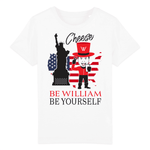 """Cheese"" Kinder T-Shirt aus 100 % Bio-Baumwolle - Be William"