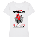 """Champion"" Damen T-Shirt aus 100 % Bio-Baumwolle - Be William"