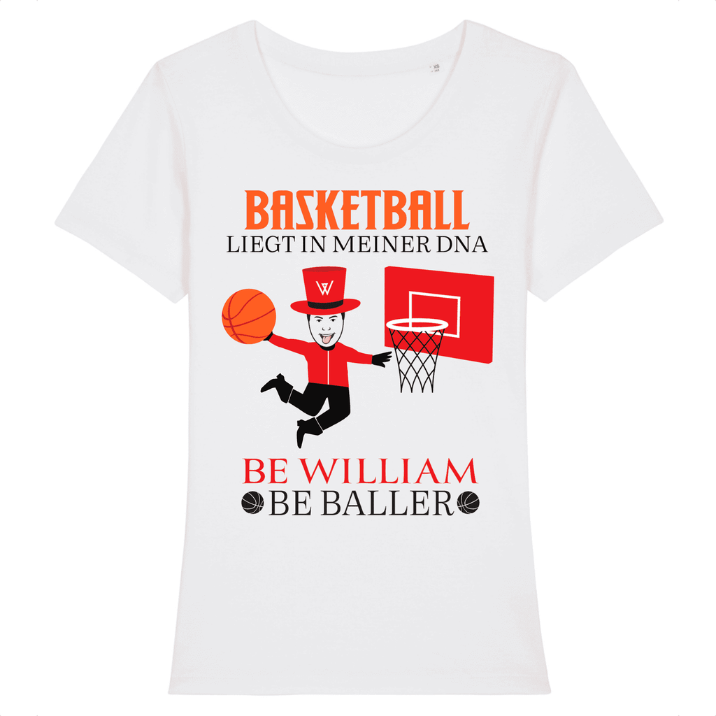 """Baller"" Damen T-Shirt aus 100 % Bio-Baumwolle - Be William"