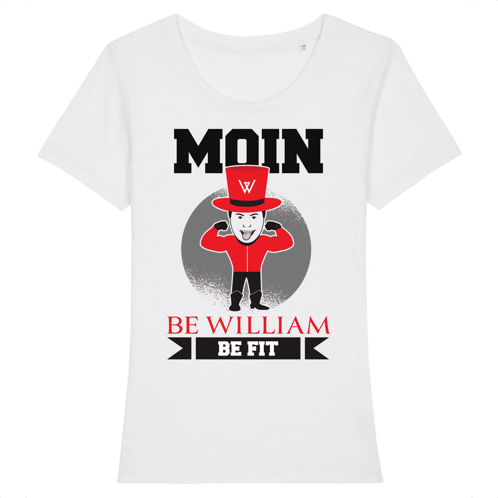 """Moin"" Damen T-Shirt aus 100 % Bio-Baumwolle - Be William"