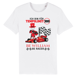 """Racer"" Unisex T-Shirt aus 100 % Bio-Baumwolle - Be William"