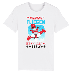 """Fly"" Unisex T-Shirt aus 100 % Bio-Baumwolle - Be William"
