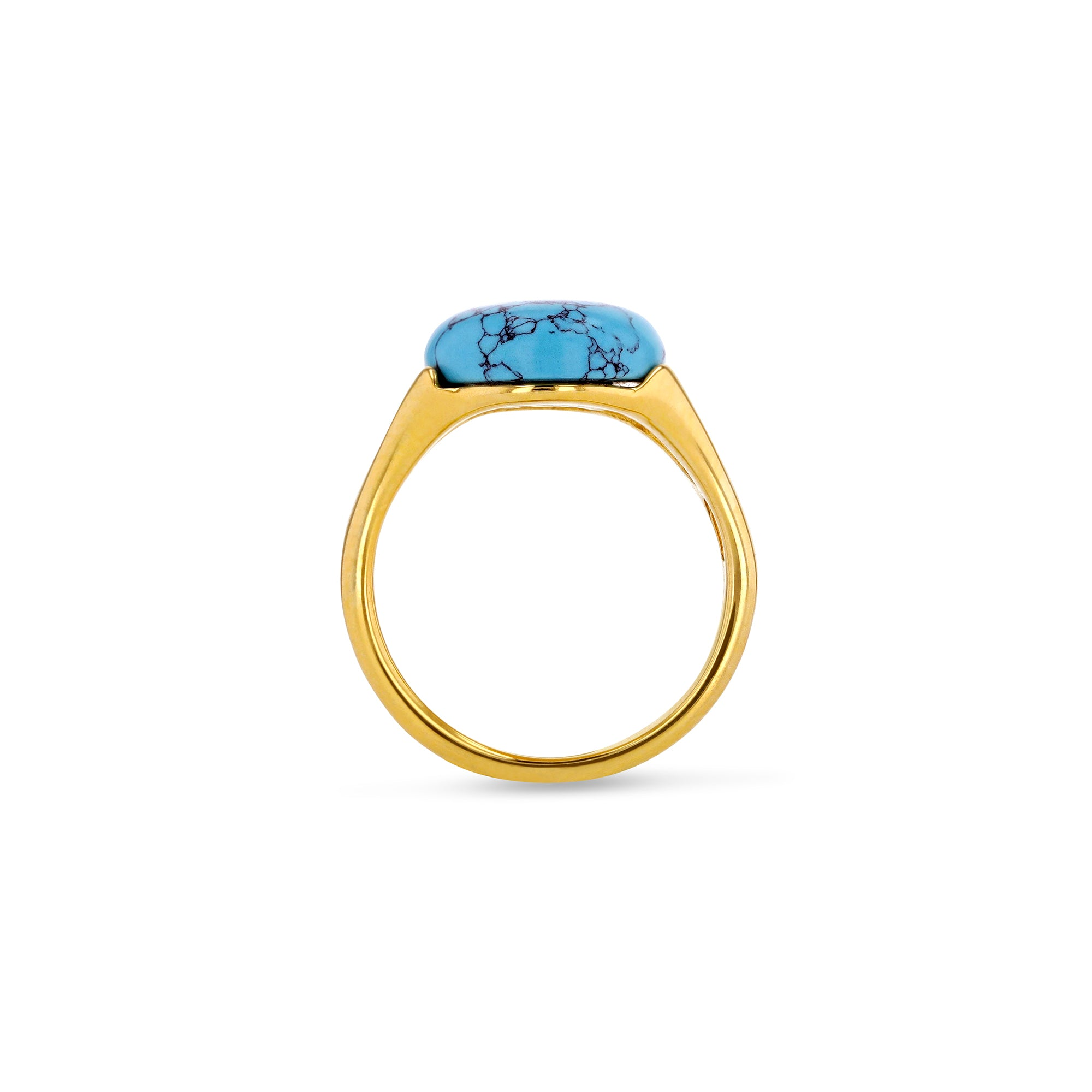 Eye of Turquoise Ring