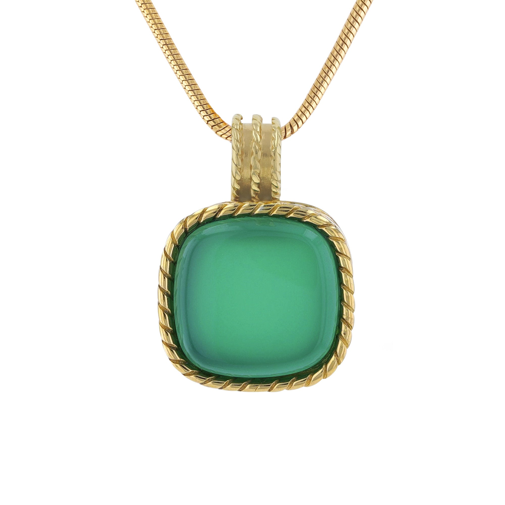Deep Green Sea Pendant