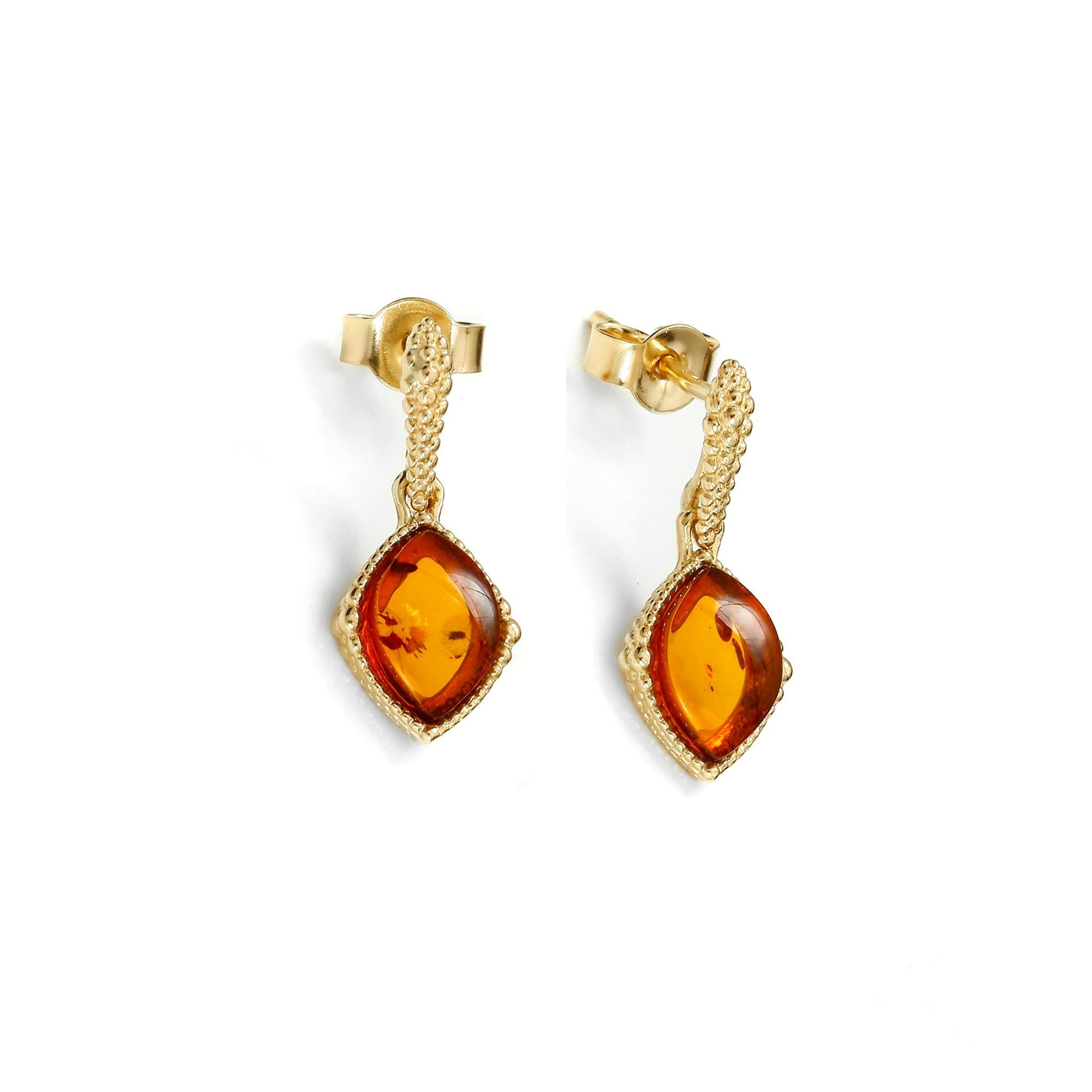 Amber Rainbow Earrings - Koraba