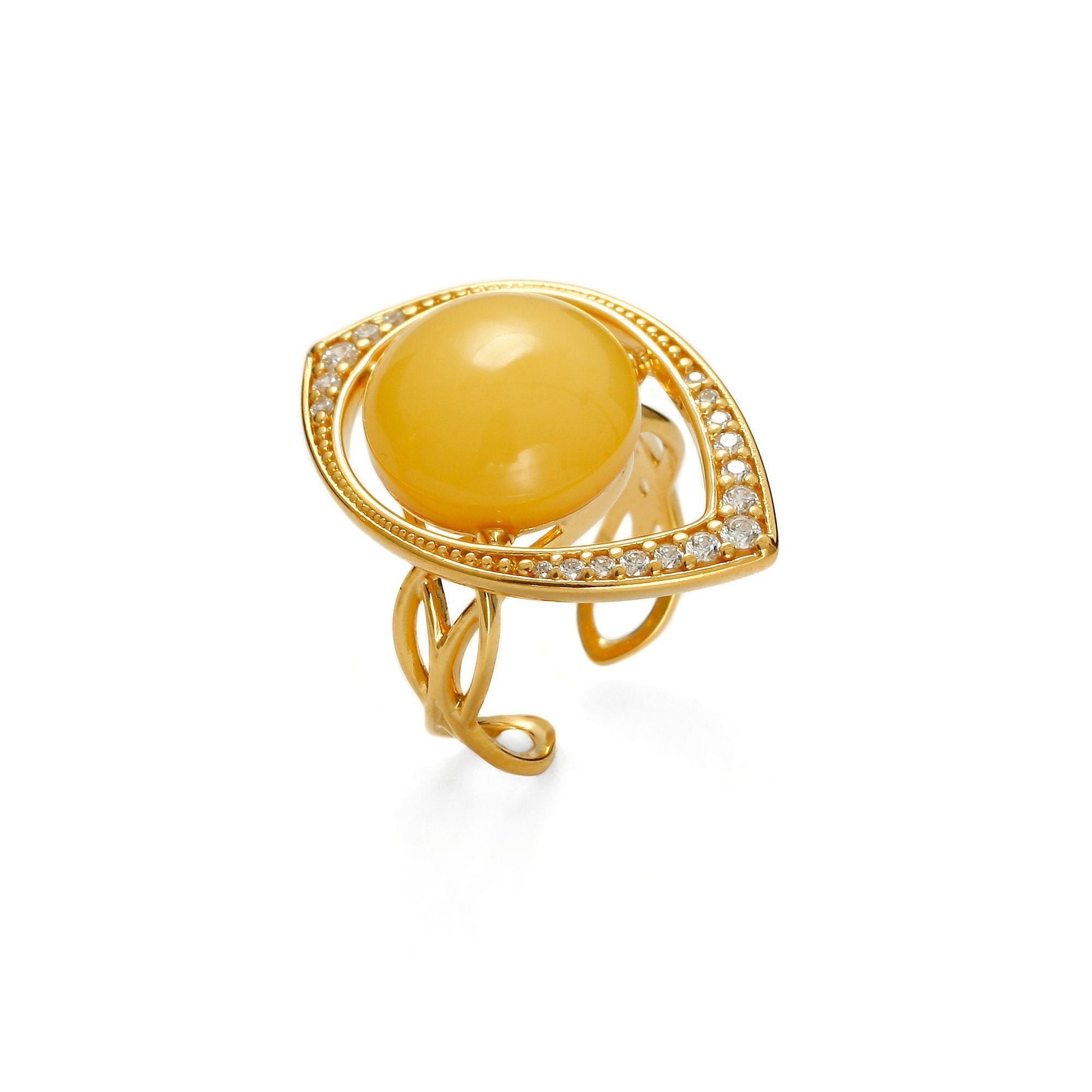 Antique White Treasure Ring - Koraba