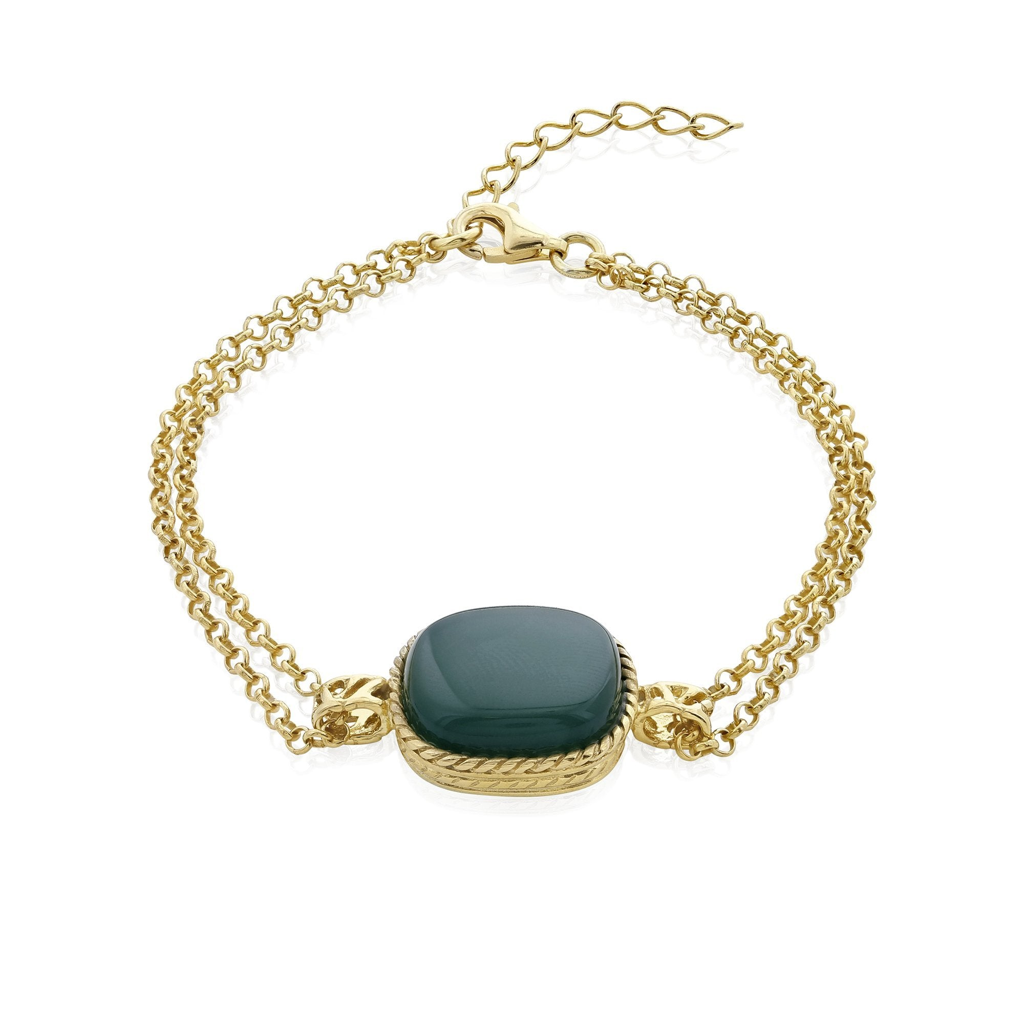 Deep Green Sea Bracelet - Koraba