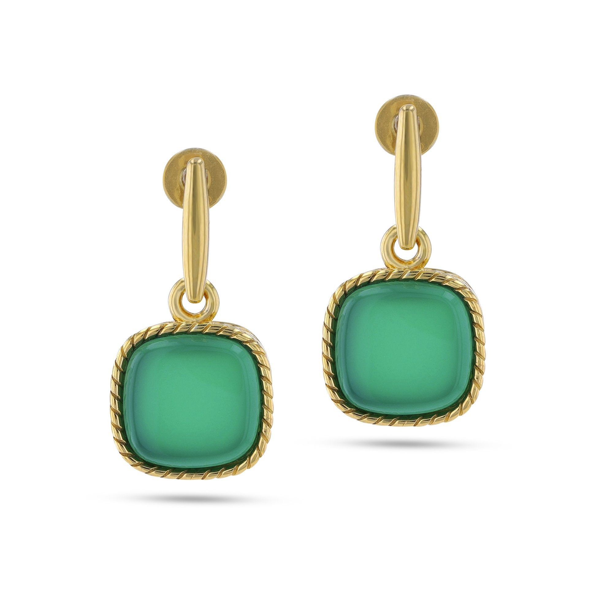 Deep Green Sea Earrings - Koraba