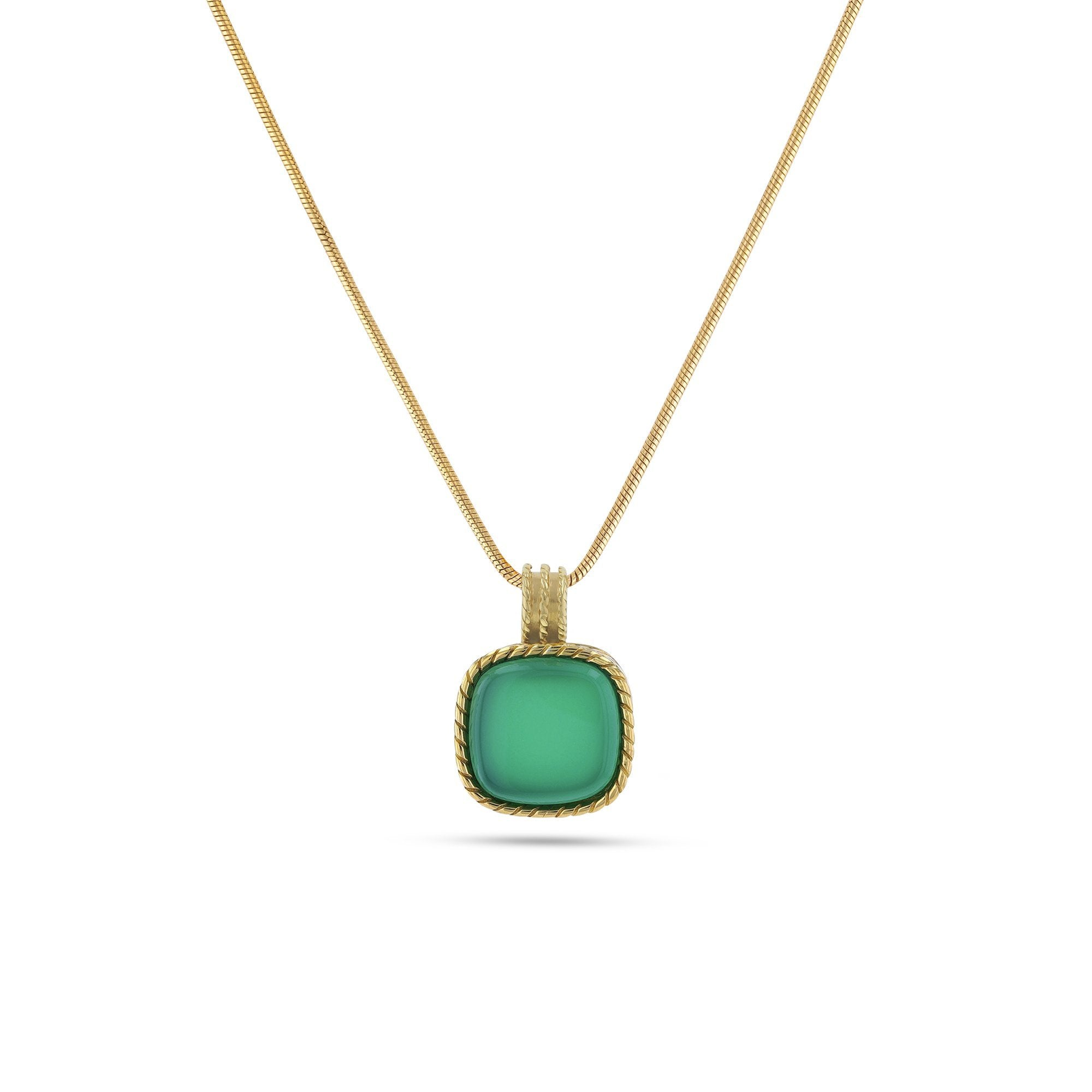 Deep Green Sea Pendant - Koraba