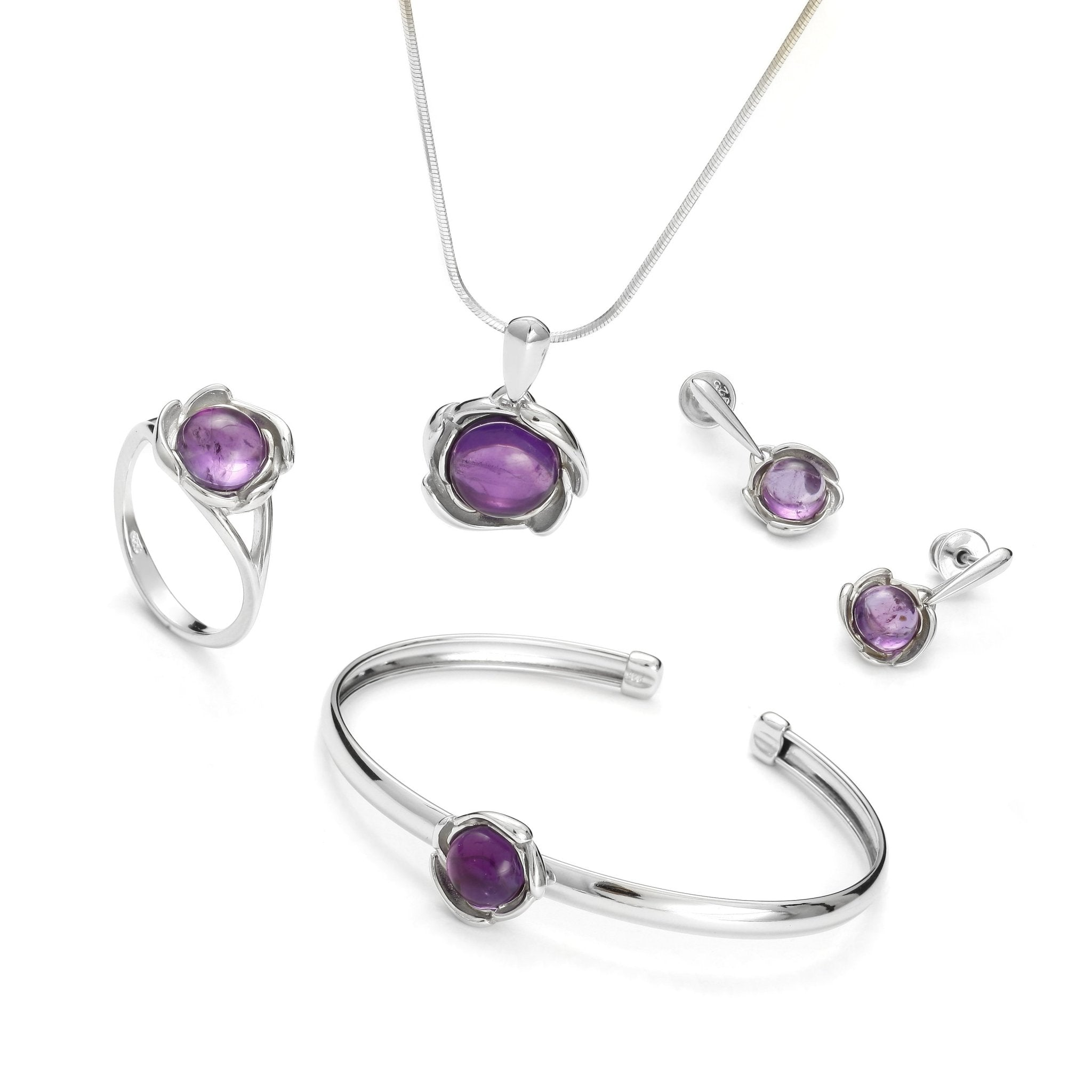 Eye of the Storm Purple Bracelet - Koraba