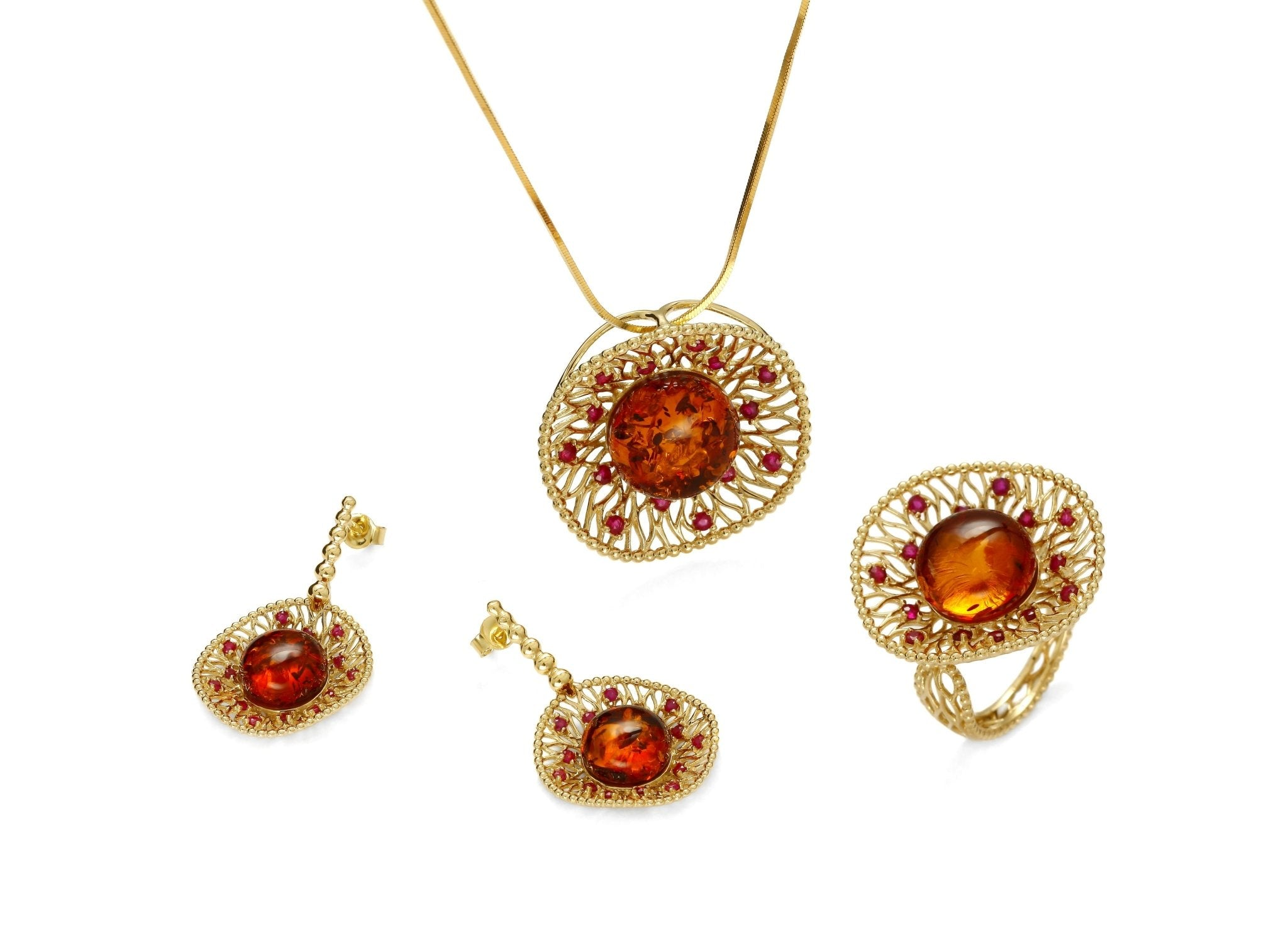Goddess of Rubies Full Set - Koraba