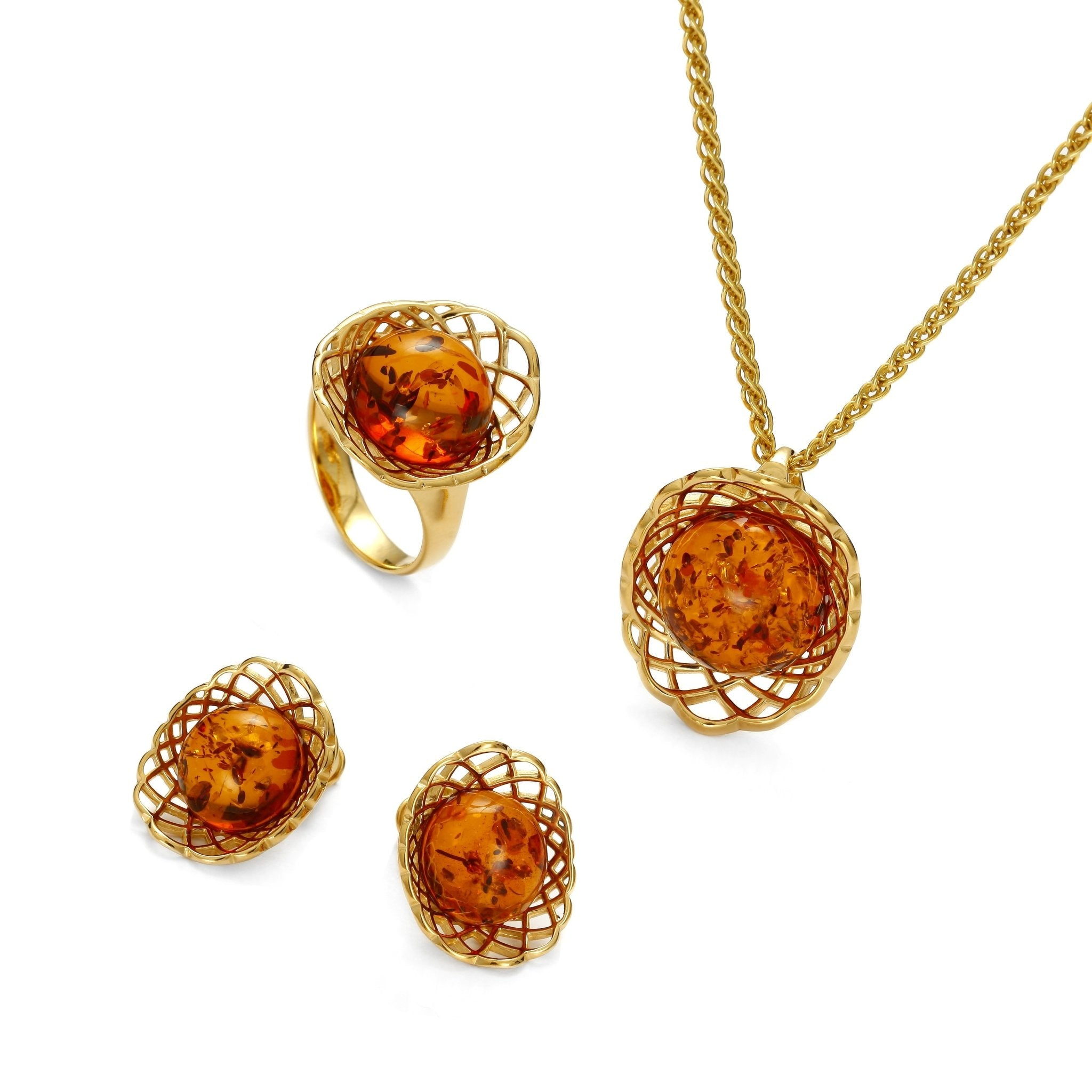 Golden Web Cognac Full Set - Koraba