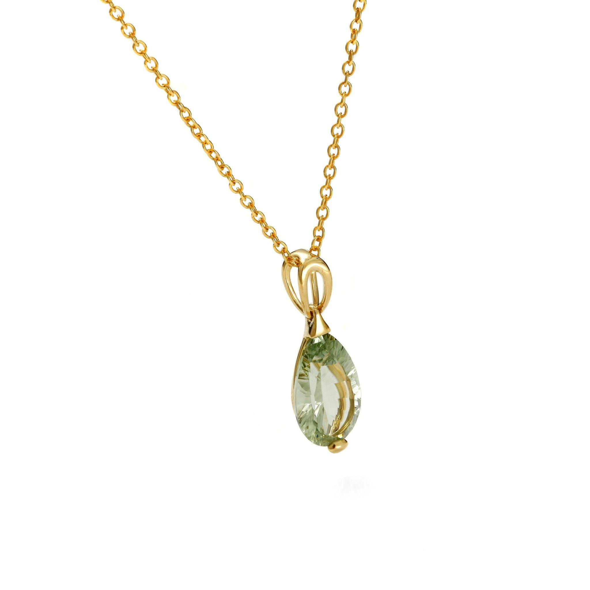 Green River Drop Cut Pendant - Koraba