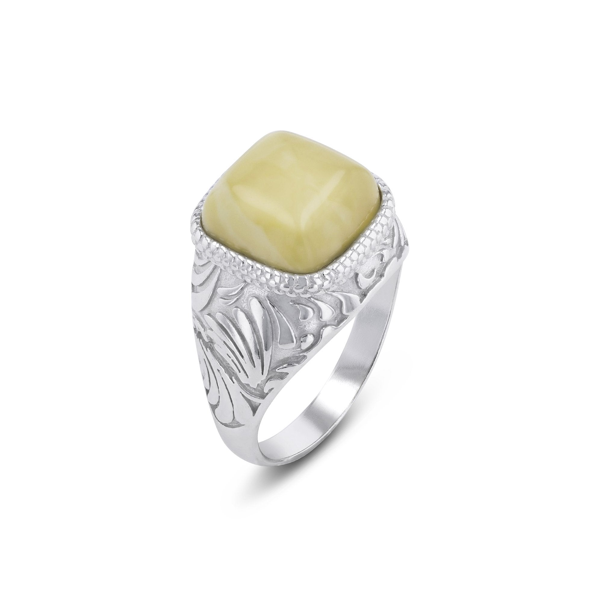Hills Square Cut Antique Ring - Koraba