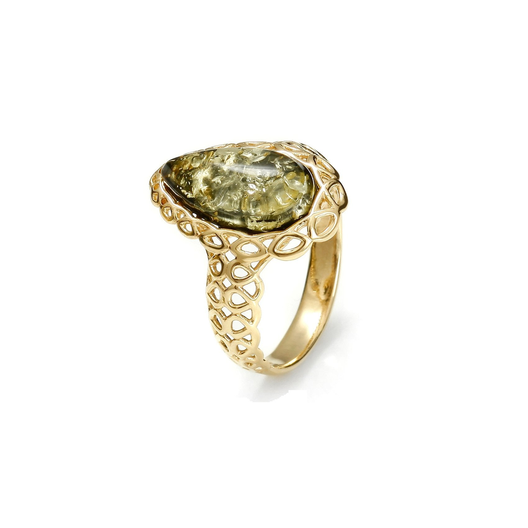 Lady of the Forest Drop Ring - Koraba