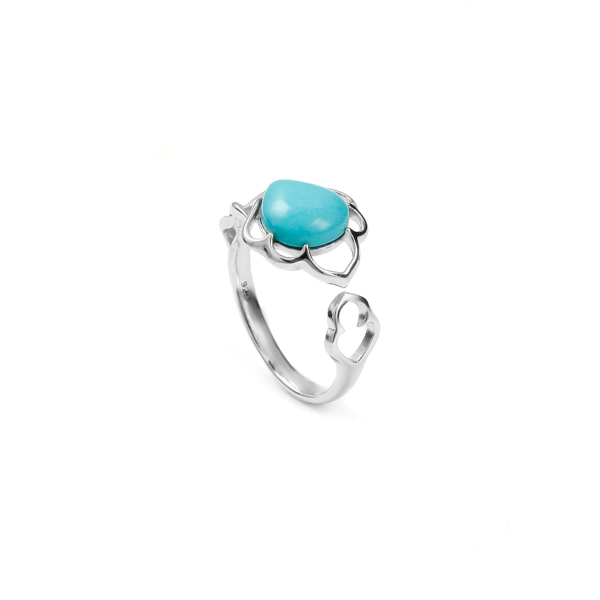 Maple Leaf Turquoise Ring - Koraba