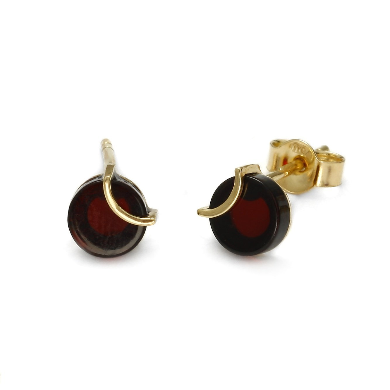 Raw Amulette Cherry Earrings - Koraba