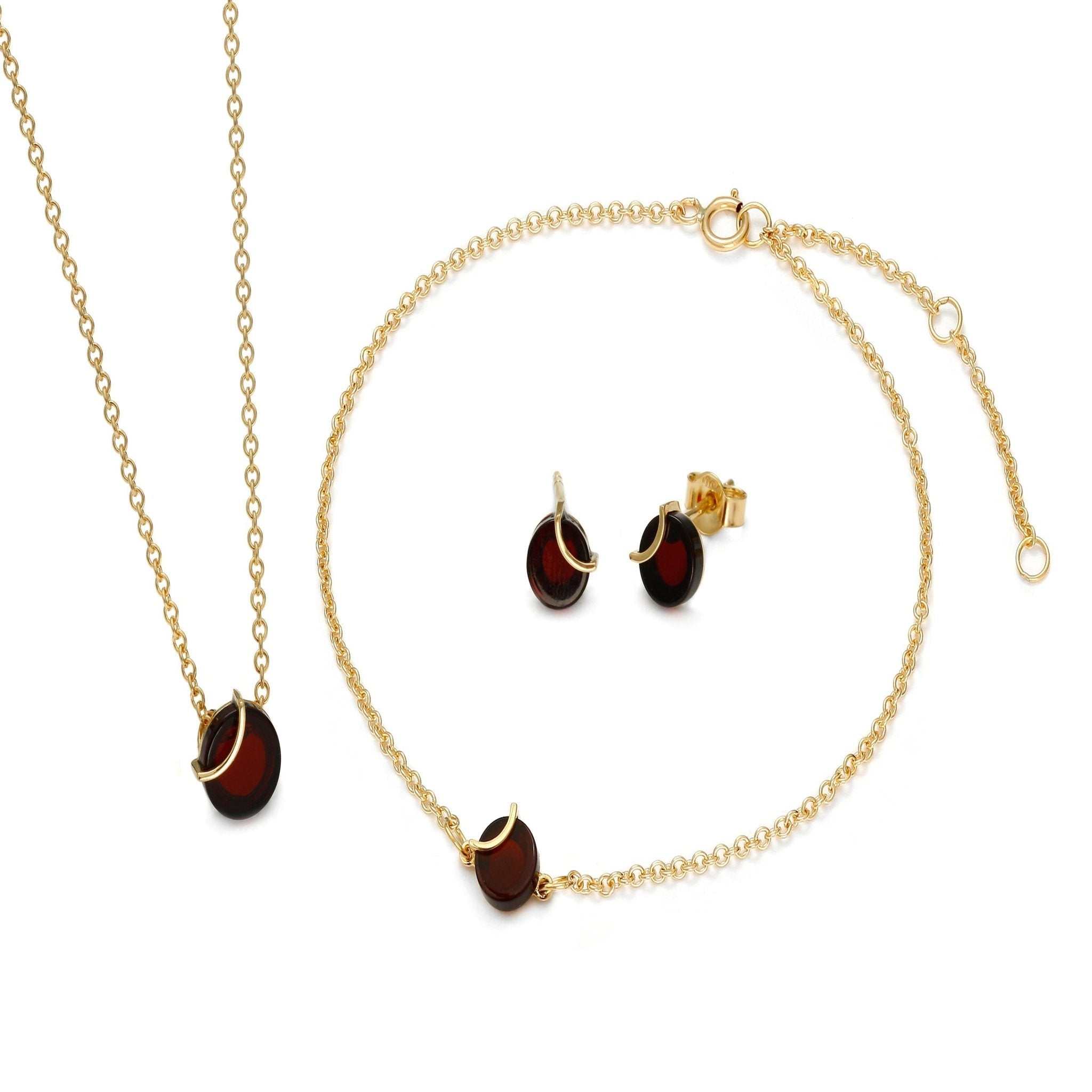 Raw Amulette Cherry Necklace - Koraba