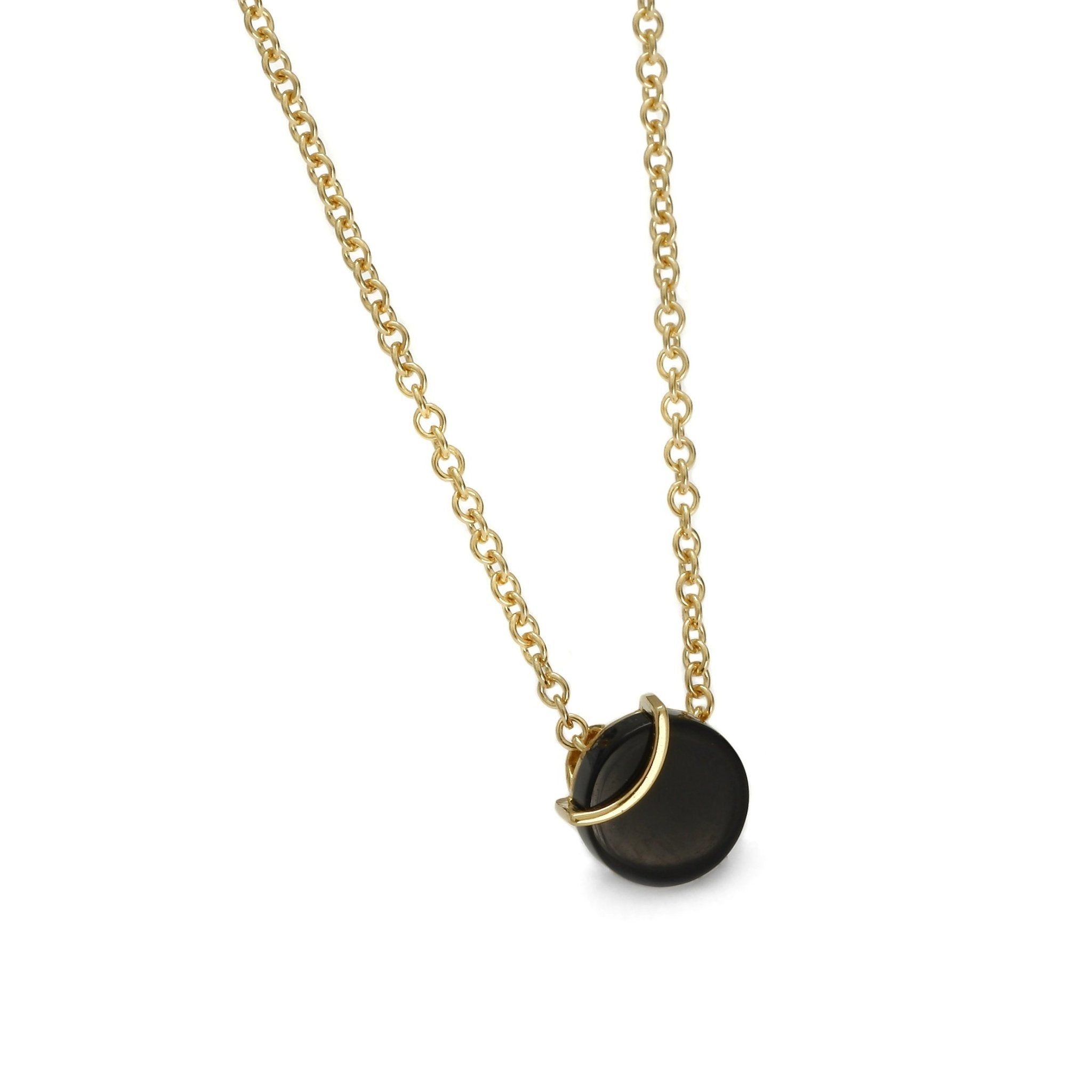 Raw Amulette Onyx Necklace - Koraba