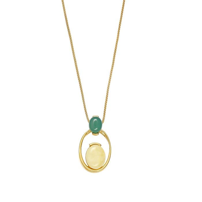 Sea Breeze Circle Necklace - Koraba