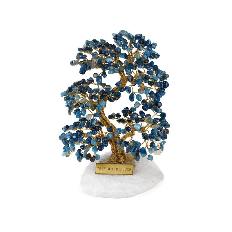 Tree of Good Luck Agate Blue - Koraba