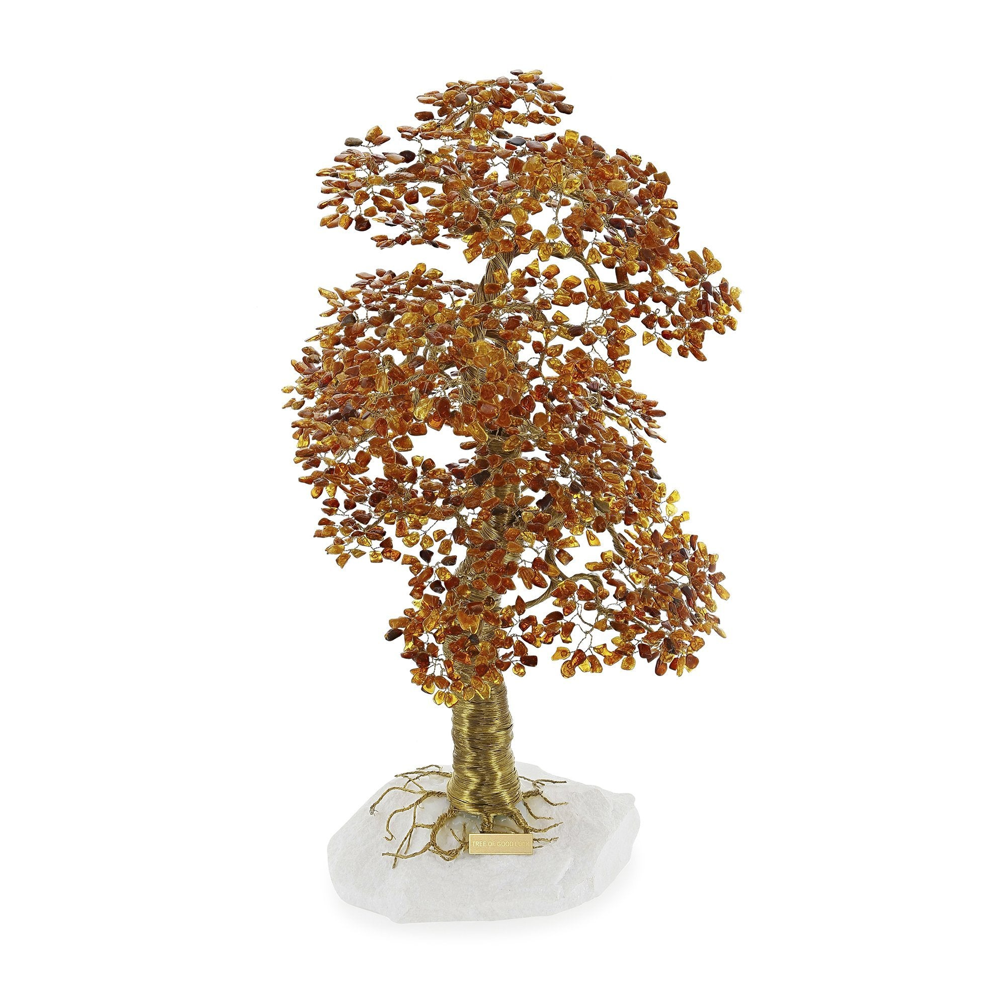 Tree of Good Luck Natural Baltic Amber Big - Koraba