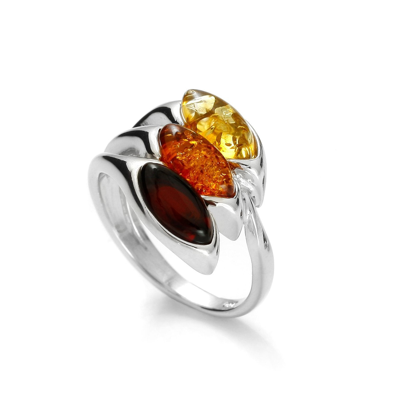 Tricolored Drops Ring - Koraba