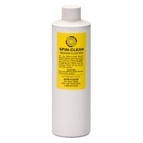 Spin-Clean Washer Fluid (16 Oz)