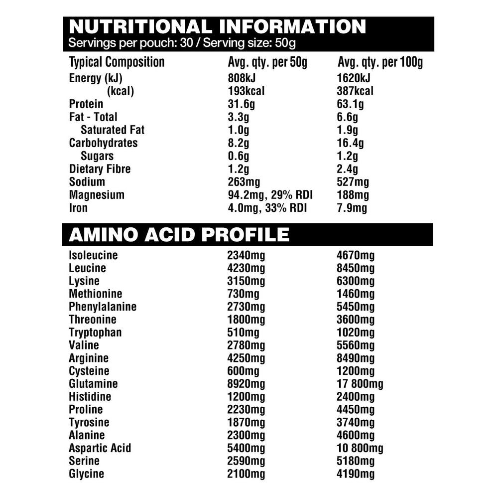 RawFIT Performance Protein by Amazonia