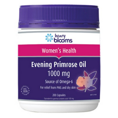 Evening Primrose Oil 1000mg by Henry Blooms