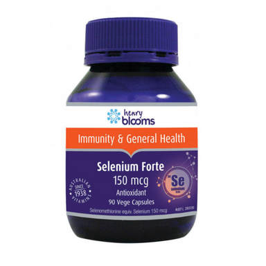 Selenium Forte 150mcg by Henry Blooms