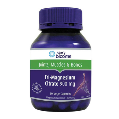 Tri-Magnesium Citrate 900mg by Henry Blooms