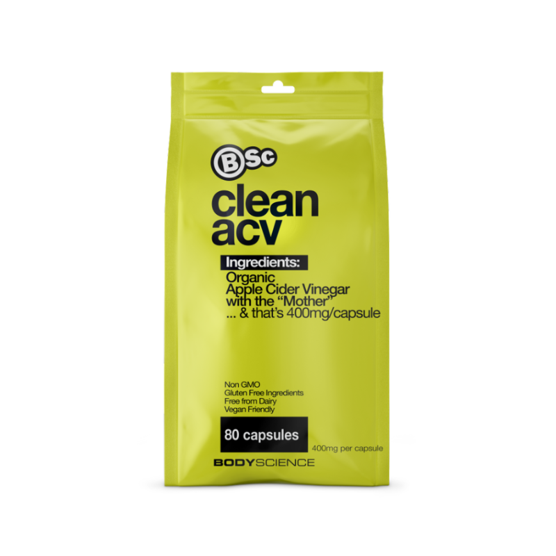 Clean ACV Capsules by Body Science (Bsc)