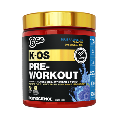 K-OS Pre-Workout by Body Science (Bsc)