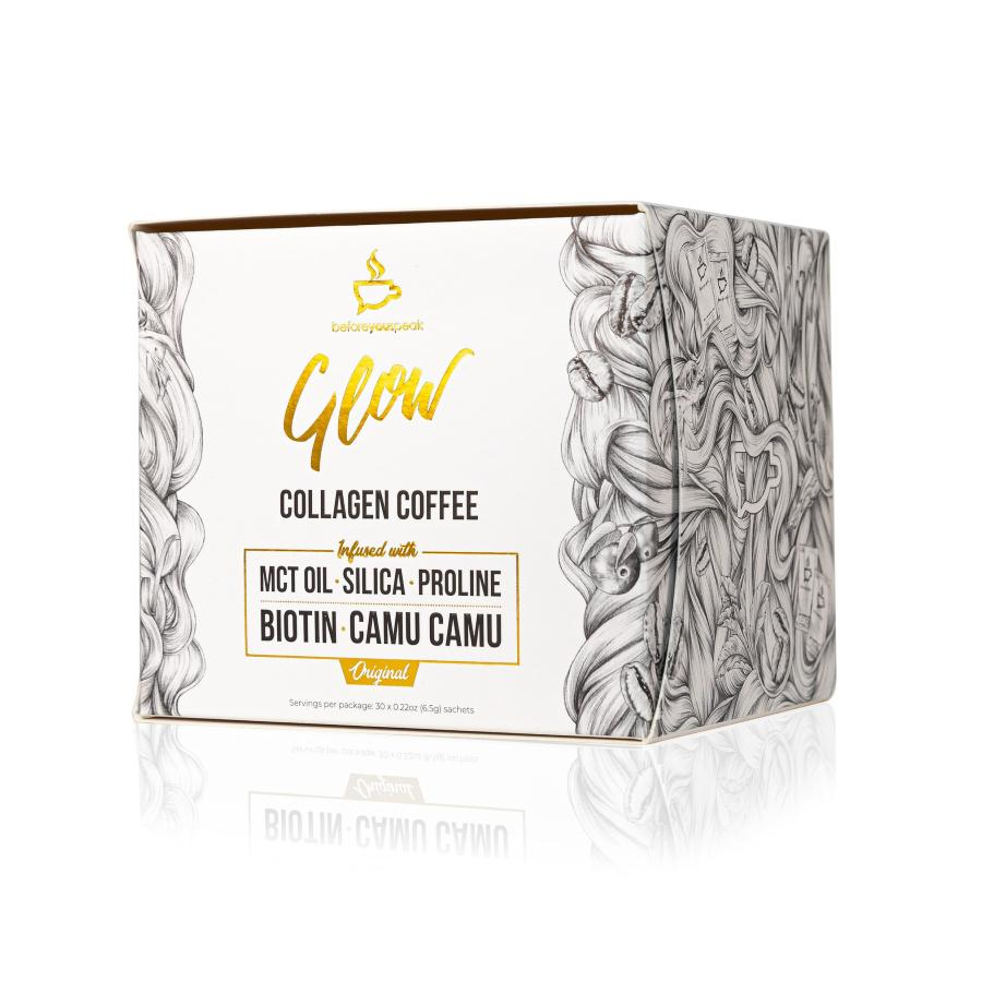 Glow Collagen Coffee by Before You Speak