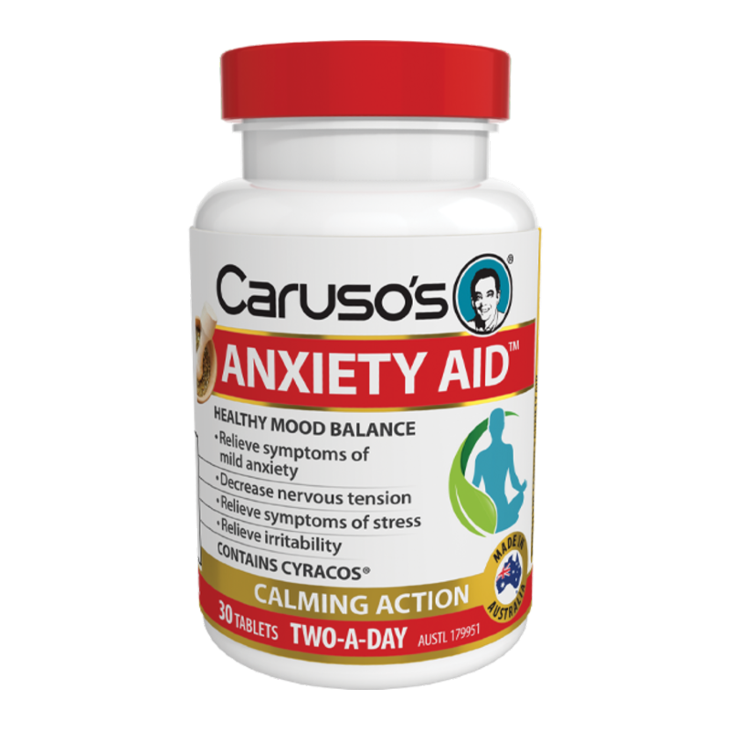 Anxiety Aid by Carusos Natural Health