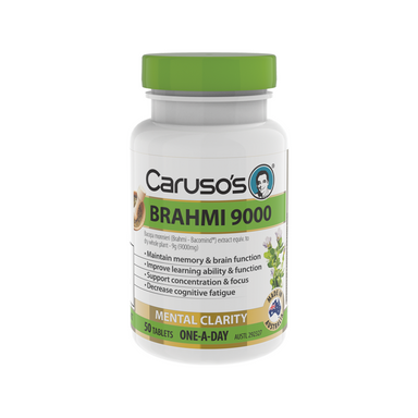 Brahmi 9000 by Carusos Natural Health