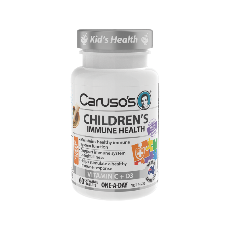 Childrens Immune Health by Carusos Natural Health
