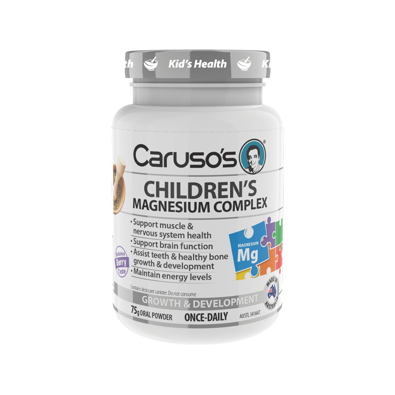 Childrens Magnesium Powder by Carusos Natural Health