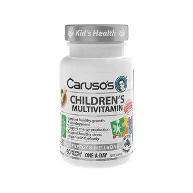 Childrens Multivitamin Chewables by Carusos Natural Health