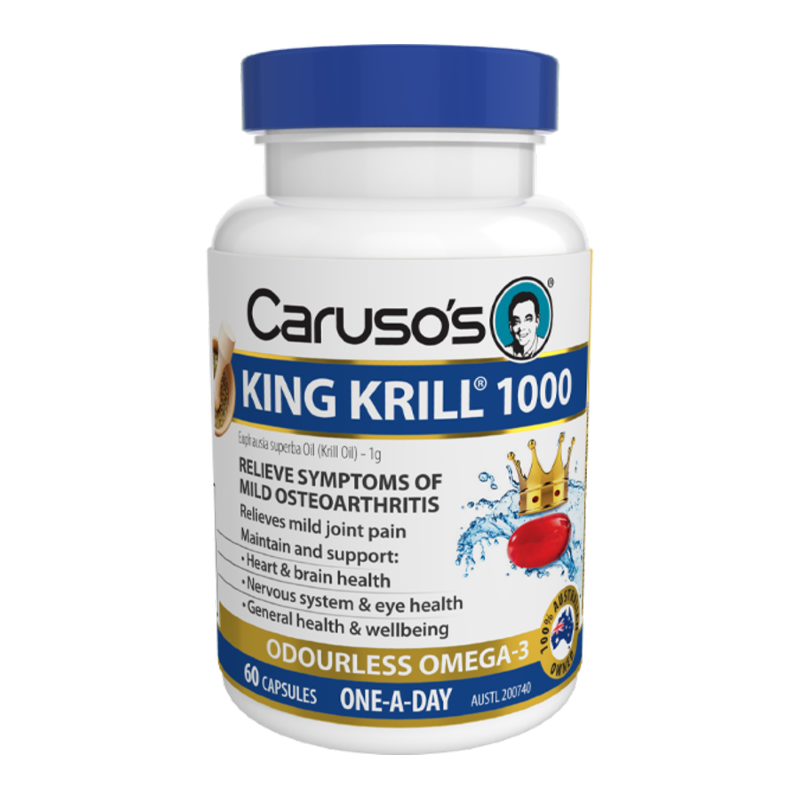 King Krill 1000mg by Carusos Natural Health